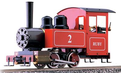for Beginners Accucraft AC77-010 Ruby #1 Einsteigermodell Live-Steam Black